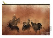 Driving The Herd Carry-all Pouch by Corey Ford