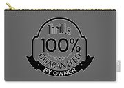 Driving Thrills Guaranteed Carry-all Pouch