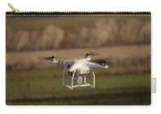 Drone Fly Above The Field Carry-all Pouch