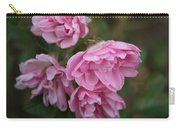Droopy Pink Roses Carry-all Pouch