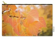 Drops Of Autumn Carry-all Pouch