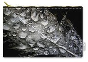 Drops On A Feather Carry-all Pouch