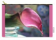 Drowsy Calla Lily Carry-all Pouch
