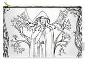 Druid Woman Shush Carry-all Pouch