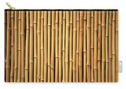 Dry Bamboo Rows Carry-all Pouch