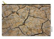 Dry Cracked Lake Bed Carry-all Pouch