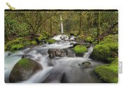 Dry Creek Falls In Springtime Carry-all Pouch