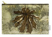 Dry Leaf Collection Natural Carry-all Pouch