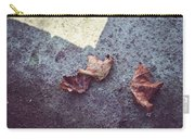 Dry Leaves Carry-all Pouch
