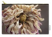 Drying And Aged Dahlia Carry-all Pouch