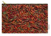Drying Red Hot Chili Peppers Carry-all Pouch