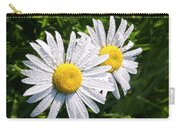 Dual Daisies Carry-all Pouch