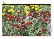 Dubai Flowers Carry-all Pouch