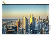 Dubai Towers At Sunset. Carry-all Pouch