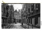 Dublin Ireland - Essex Street In Black And White Carry-all Pouch