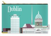 Dublin Ireland Vertical Scene Carry-all Pouch
