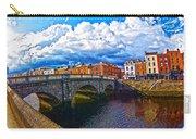 Dublin's Fairytales Around Grattan Bridge 2 Carry-all Pouch