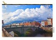 Dublin's Fairytales Around Grattan Bridge V2 Carry-all Pouch