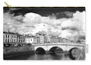 Dublin's Fairytales Around  River Liffey 3 Bw Carry-all Pouch
