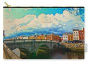 Dublin's Fairytales Around  River Liffey V4 Carry-all Pouch