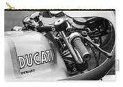 Ducati Desmo Motorcycle -2127bw Carry-all Pouch