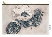 Ducati Paulsmart 1000 Le - 2006 - Motorcycle Poster - Automotive Art Carry-all Pouch