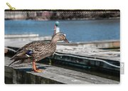 Duck About To Jump. Carry-all Pouch