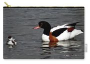 Duck And Chick Carry-all Pouch