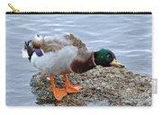 Duck Bath Alantic Beaches Nc Carry-all Pouch