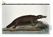 Duck-billed Platypus Ornithorhynchus Carry-all Pouch