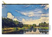 Reflections At Duck Creek Carry-all Pouch