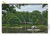 Duck House Deering Oaks Park Portland Maine Carry-all Pouch