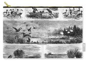Duck Hunting, 1868 Carry-all Pouch