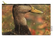 Duck In Autumn Carry-all Pouch