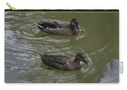 Duck Pair Swimming Carry-all Pouch