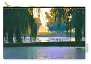 Duck Pond At Dawn Carry-all Pouch
