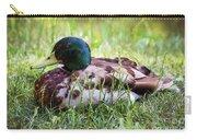 Duck Portrait Carry-all Pouch