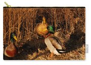 Ducks At Dusk Carry-all Pouch