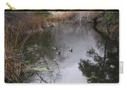 Ducks From The Bridge Carry-all Pouch
