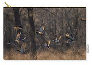 Ducks In Flight Carry-all Pouch