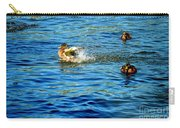 Ducks In Water Carry-all Pouch