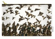 Ducks On The Move Carry-all Pouch