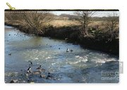 Ducks On The River In Early Spring Carry-all Pouch