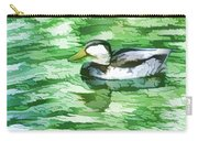 Ducks Swimming In A Pond Carry-all Pouch