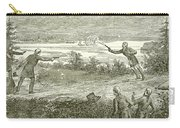 Duel Between Alexander Hamilton And Aaron Burr Carry-all Pouch