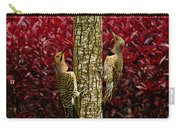 Dueling Woodpeckers Carry-all Pouch