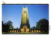 Duke Chapel At Dusk Carry-all Pouch