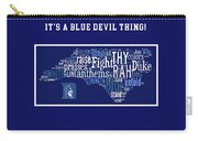 Duke University Blue And White Products Carry-all Pouch