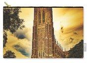 Duke University Chapel At Dusk Carry-all Pouch