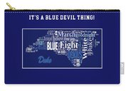 Duke University Fight Song Products Carry-all Pouch